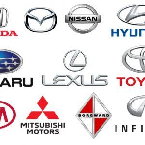 انواع خودروهای آسیایی
